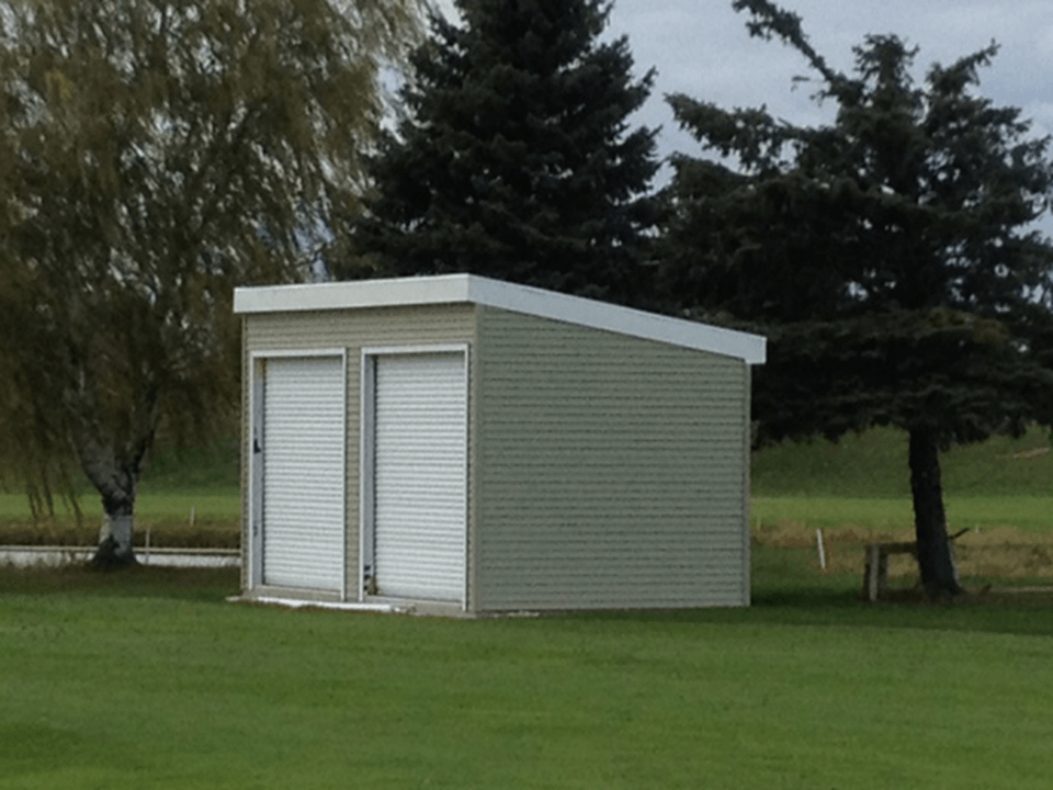 Fitting Shed